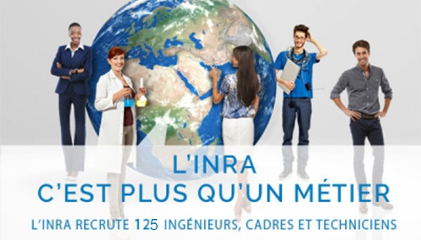 L'INRA recrute