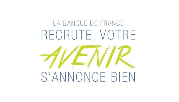 Concours de rédacteurs à La Banque de France