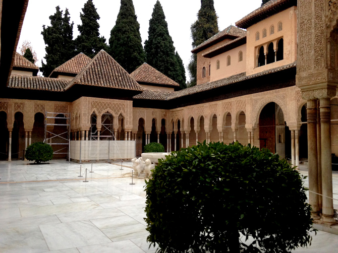 Alhambra à Grenade.