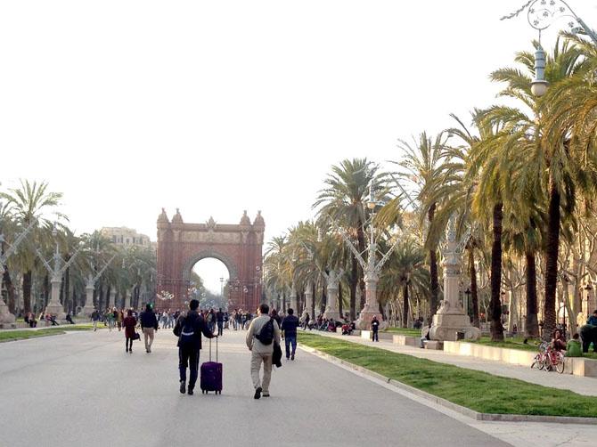 Arc de Triomf.