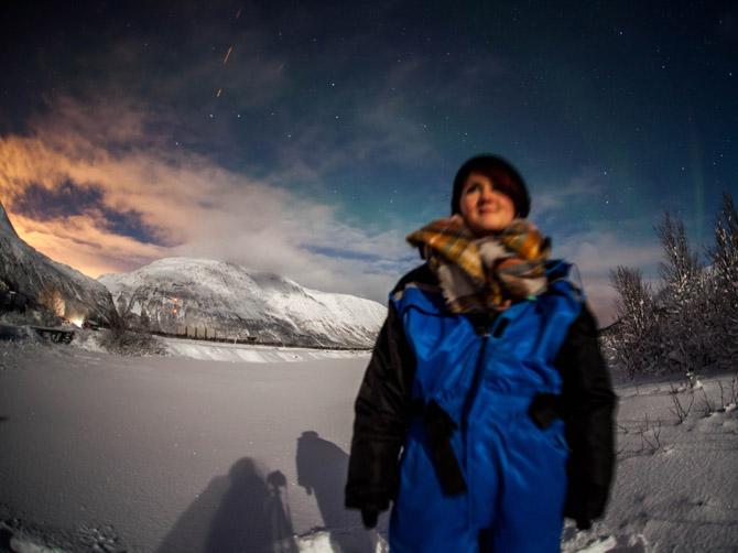 Les aurores boréales, Tromsø.