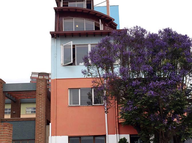 La Sebastiana, maison de Pablo Neruda.