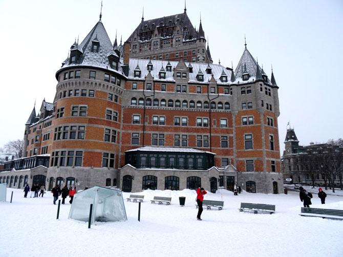 Château Frontenac à Québec.