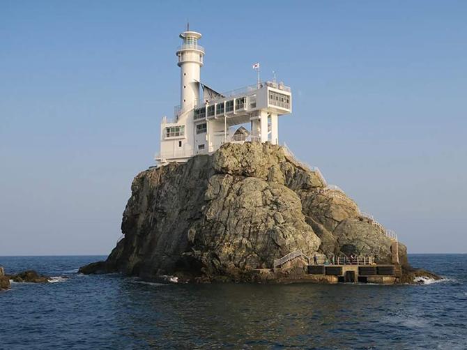 Oryukdo Island, près de Busan.