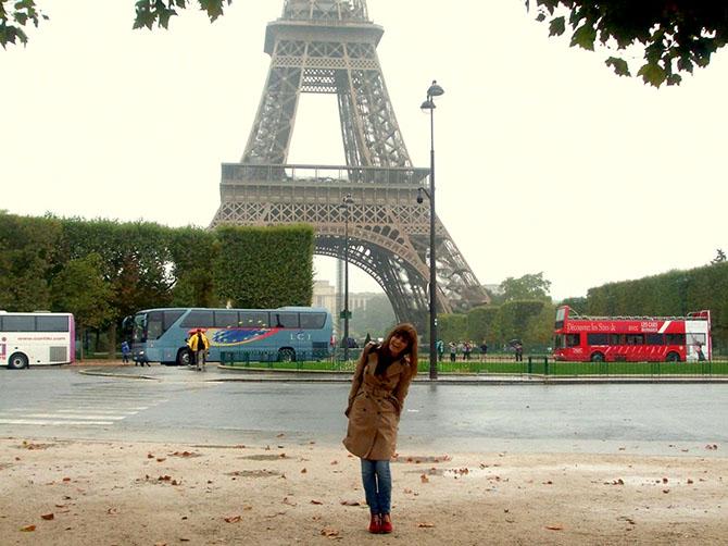 Mon séjour en France.